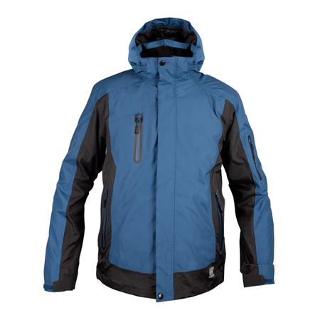 Parka HW 3 En 1 Desmontable Summit Azul Negro - hwwear 8ed319d3210c